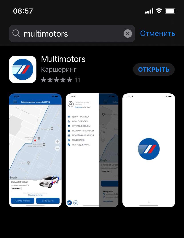Каршеринг Мультимоторс